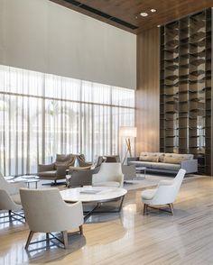 Hotel Hilton Barra #Hotelinteriors