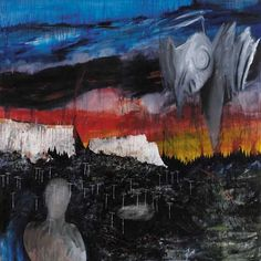 Get out before Saturday. (2000) 168cm x 168cm. Acrylic on canvas. - Stanley Donwood