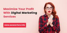 D igital marketing services is the best solution to maximize your small business profit without spending more budget. Small Business Marketing, Digital Marketing Services, Budgeting, Budget Organization