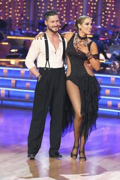 Val and Elizabeth  -  Dancing With the Stars  -  week 4  -  season 17  -  fall 2013