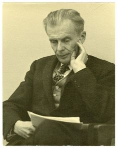 Aldous Huxley - nothing if not brave.