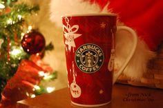 my Starbucks Christmas mug 2009