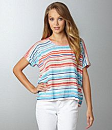 The perfect striped tee from C and C California