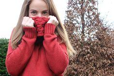 Oxblood sweater - Aurorana