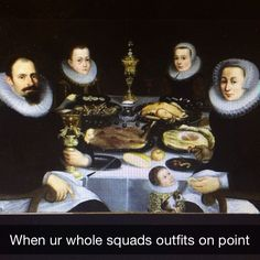 Thanks @alana_ricca for this #FollowerFriday submission! #arthistorysnap #art #arthistory #snapchat #funny #painting #lol #AHS #friday #happyfriday #weekend #tgif #squad #dutchpainting