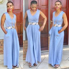 """Either simple , active or classy, dress-up with purpose."""" Sylvia Rambwa"""