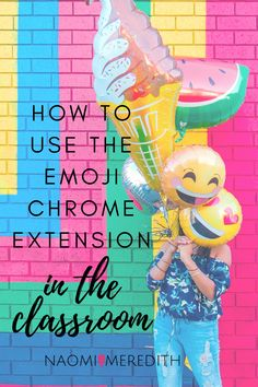 Emojis are a modern day version of hieroglyphics; they visually convey a lot of meaning and emotion. Learn how to use the emoji chrome extension, and bring this tool into the classroom.