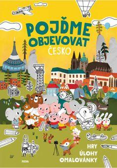 Pojďme objevovat Česko – Hry, úlohy, omalovánky Bingo, Books To Read, Calendar, Snoopy, Marvel, Comics, Reading, Holiday Decor, Fictional Characters