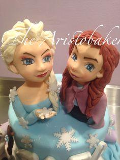 Frozen cake topper