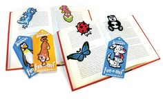Amazon.com : Lizard Bookmarks (Clip-over-the-page) Set of 2 - Assorted colors : Office Products