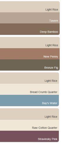 Accent Paint Colour Chart Dulux 'rich' Neutrals Range Is The Perfect Colour Scheme For The .