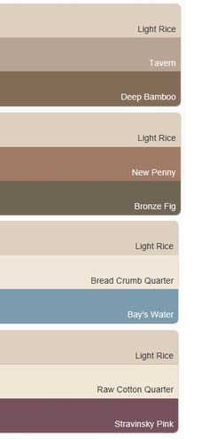 Schemes with Dulux Light Rice - inspiration for accent colours