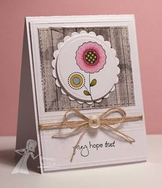 Pray Hope Trust by deconstructingjen - Cards and Paper Crafts at Splitcoaststampers