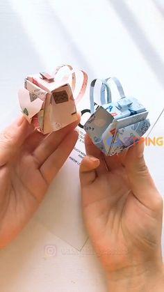 Diy Crafts For Girls, Diy Crafts To Do, Diy Crafts Hacks, Creative Crafts, Kids Diy, Cool Paper Crafts, Paper Crafts Origami, Instruções Origami, Origami Videos