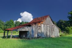 I love seeing an old shed or barn with a rusty roof (probably wouldn't if it was mine!)