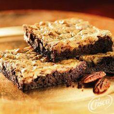 Pecan Pie Brownies from Crisco®