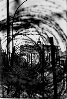 René Burri. Brandenburg Gate with Barbed Wire. Berlin. 1961  [::SemAp FB || SemAp::]