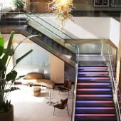 St. Louis: Moonrise Hotel Travel Advice, Travel Tips, Galvanized Steel Pipe, Most Romantic Places, St Louis, Stairs, Stairway, Staircases, Travel Hacks