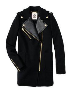 쥬시꾸뛰르, 울 오버사이즈 '모토 코트' 제안 http://www.fashionseoul.com/?p=22909