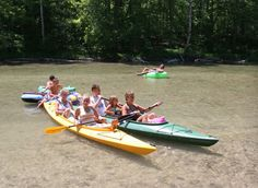 I would love to tube on the Platte River up in northern Michigan.  I hear it is fun with kids!