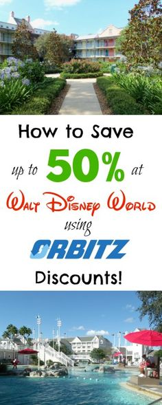 Save money on Walt Disney World Resort hotels by stacking two discounts and booking on Orbitz! The lowest prices on Disney hotels.
