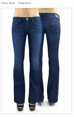 Great bootcut in a medium gorgeous wash.