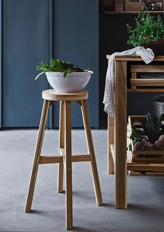 the radiance of acacia wood... Skogsta collection by Ikea