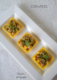 The food factory: How to make canapes | Indian style canapes