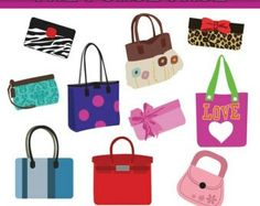 617 best purse clipart images on pinterest bags purses and hand bags rh pinterest com Purse Bag Clip Art Purse Template Clip Art