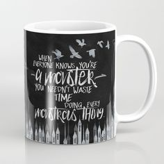 Buy Six of Crows - Monster Coffee Mug by evieseo. Worldwide shipping available at Society6.com. Just one of millions of high quality products available.