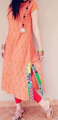 Kurtis has become a very integral outfit it Indian fashion industry. From parties to casual wear for your work every day, Kurtis has become a big fashion s Indian Attire, Indian Wear, Pakistani Outfits, Indian Outfits, Kurta Designs, Blouse Designs, Kurti Patterns, Indian Designer Wear, Anarkali