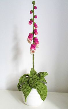 Ffion (Welsh for Foxglove): free pattern
