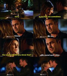 """Severide & Brittany - """"We saved each other"""" 3x07"""