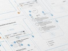Unmentionable App Wireframe by Yebo