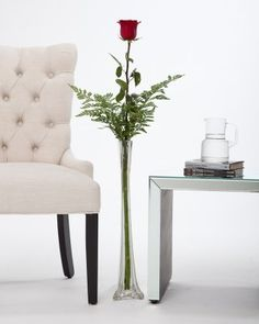 The Ultimate Rose 4 Foot Single Stem Red Rose with Vase - http://yourflowers.us/?p=2411