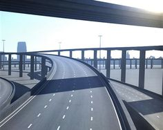Freeway05  3D model and object for city modelling  #3D #3DModel