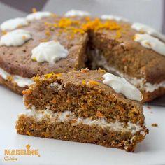 Tort de morcovi si portocale / Carrot & orange cake