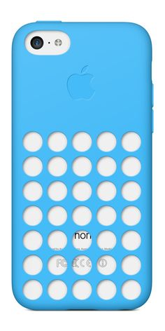 Apple iPhone 5c [8GB] — in White with a Blue case