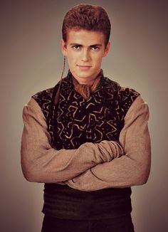 Anakin's refugee disguise. AotC. That was a HUGE mistake sending them as a couple then wondering why they fell in love {even tho they were in kinda love already, but it just helped them spend close time which made them even more in love...} xP
