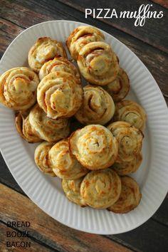 Pizza Muffins | Brea