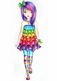 Rainbow by funandcake.deviantart.com on @DeviantArt