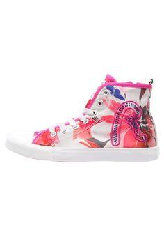 Replay SURRY Sneaker high white/fuxia für Mädchen -