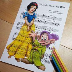 Snow White - Whistle while you work
