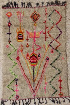 Tapis marocain AZ28551, Catalogue Tapis Laine, tapis berbère Azilal et Ourika