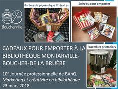 Une initiative extraordinaire à la Bibliothèque Montarville-Boucher-De La Bruère (Boucherville, Qc.)