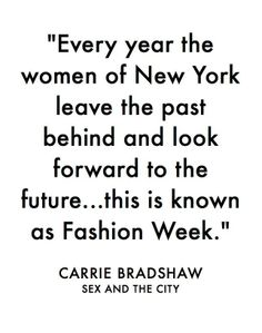 Fashion week marks the blossoming of a new year of trends and a fresh start for the industry as well as the consumers.