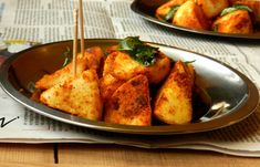 Idly 65 (Idli 65) Use your leftover idlis and make them into a tasty snack. #recipe