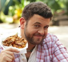 Adam Richman is an American actor and television personality. He was the host of the Travel Channel's eating challenge program Man v. Food and its sequel Man v. Food Nation, and currently hosts Adam Richman's Best Sandwich in America.