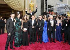 Benedict Cumberbatch Perfectly Photobombs U2 On Oscar Red Carpet