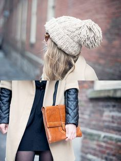 Pom Pom ( Leather Clutches